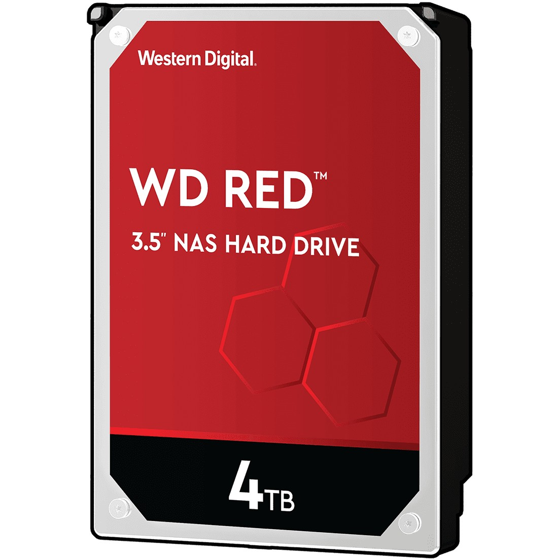 WD Red 4TB SATAIII 5400RPM 3.5″ -kiintolevy