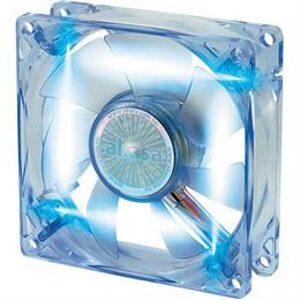 Akasa kotelotuuletin 80mm 4xSin ledi läpinäkyvä