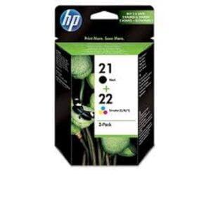 HP 21/22 musta/moniväri tulostuspaketti